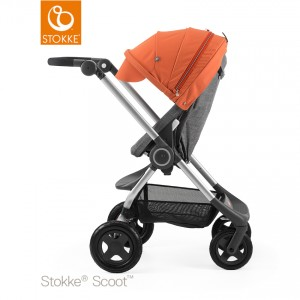 stokke_scoot_black_melange_-_orange