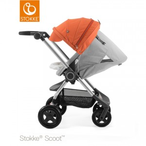 stokke_scoot_grey_melange_-_orange