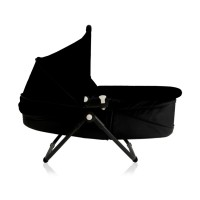 zen-carrycot-floor-black-reclined-profile
