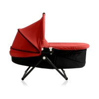 zen-carrycot-floor-red-reclined-profile